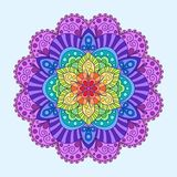 Decorative Element Colorful Mandala. vector illustration