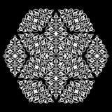 Decorative element eastern pattern. Royalty Free Stock Photo
