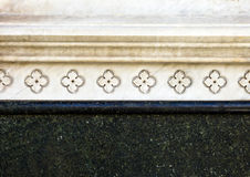 Decorative element , marble, Florence, Italy, 16 century Stock Photo