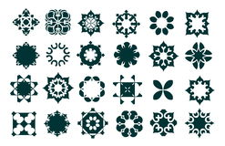 Decorative element set Stock Images