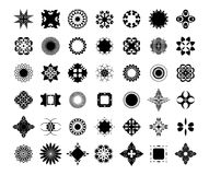 42 decorative element set Stock Photo