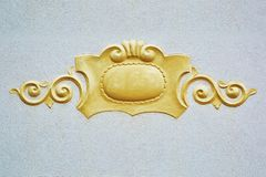 Decorative Element on the Wall Stock Image