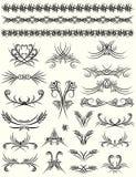 Decorative elements,  Stock Images