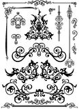 Decorative elements Stock Photography