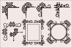 Decorative elements Stock Photos