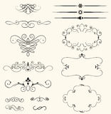 Decorative elements vector illustration