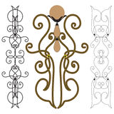 Decorative elements Stock Image