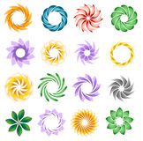 Decorative elements Stock Images