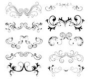 Decorative elements Stock Images
