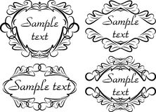 Decorative elements. For different aplications Stock Photo