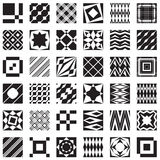 Decorative elements, can be used as seamless patterns Stock Photo