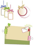 Decorative elements for a design Stock Images