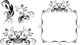 Decorative elements for design Royalty Free Stock Photography