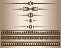 Decorative elements. Stock Photos
