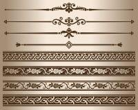 Decorative elements. Stock Photo