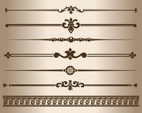Decorative elements. Royalty Free Stock Photos