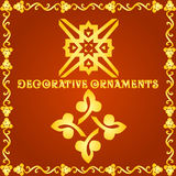 Decorative elements for designs Royalty Free Stock Images