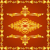 Decorative elements for designs stock illustration