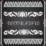 Decorative elements for designs royalty free illustration