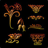 Decorative elements 1 Stock Photography