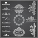 Decorative Elements - Lines & Borders Royalty Free Stock Images