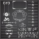 Decorative Elements - Lines & Borders. 24 Borders & Lines Decorative Elements Stock Photo