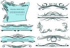Decorative Elements - Lines & Borders Stock Images