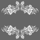 Decorative elements pattern. Design Royalty Free Illustration