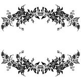 Decorative elements pattern design Stock Photo