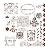 Decorative Elements - Retro Vintage Style Royalty Free Stock Image