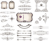 Decorative elements - Royal Style Royalty Free Stock Photo