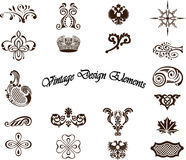 Decorative elements - Royal Style Royalty Free Stock Image