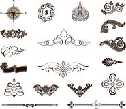 Decorative elements - Royal Style Royalty Free Stock Images