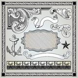 Decorative elements set Royalty Free Stock Photo