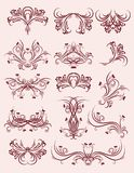 Decorative elements, vector Royalty Free Stock Photography