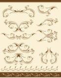 Decorative elements, vector Stock Photos