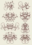 Decorative elements, vector Stock Images