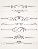 Decorative elements. Royalty Free Stock Photos