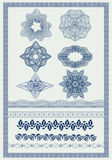 Decorative Elements - Voucher Style Royalty Free Stock Photo