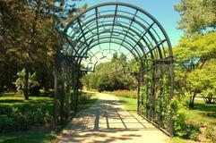 Decorative entrance Stock Image