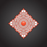 Decorative ethnic ornament background Stock Photography