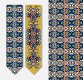 Decorative ethnic paisley bookmark for printing Stock Photo