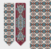 Decorative ethnic paisley bookmark for printing Stock Photography