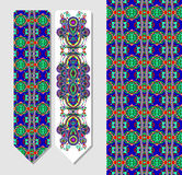 Decorative ethnic paisley bookmark for printing Royalty Free Stock Photography