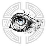 Decorative Eye Stock Photo
