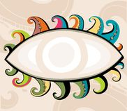 Decorative eye. Stock Photography
