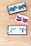 Decorative eyelashes Stock Photo