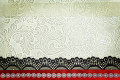 Decorative fabric background Royalty Free Stock Photography