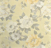 Decorative fabric wallpaper Royalty Free Stock Image