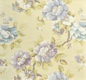 Decorative fabric wallpaper Stock Photos